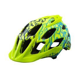 Fox Womens Flux Helmet Miami Grn L XL only ce2356a49