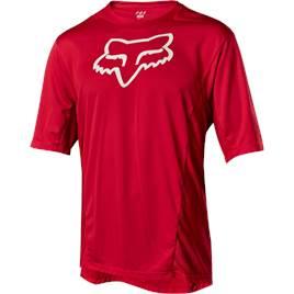 Fox Demo Camo Burn Mens Jersey Short Sleeve Red 8af8adf87