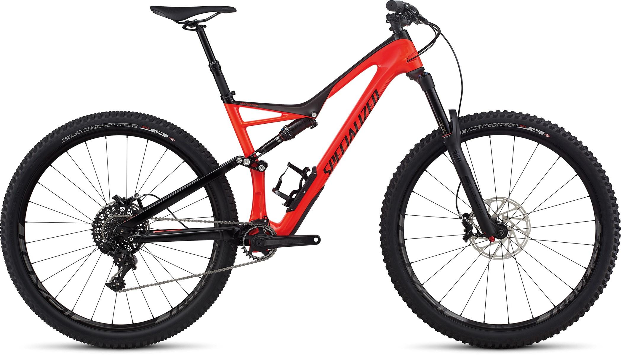 2017 Specialized Stumpjumper FSR Expert Carbon 29er Mountain Bike ...